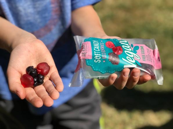 Luehders Red Berries Vegan Gummi.