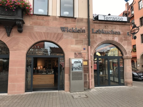 Wicklein store front.