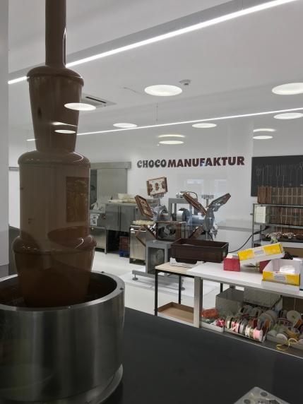 """""""Chocothek"""" at Riegelein."""